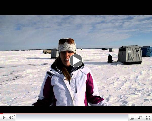 Devils Lake Fishing Report-Lots Of Ice Fishing Left